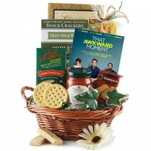 Design It Yourself Gift Baskets Dinner and a Movie  - Movie Gift Basket
