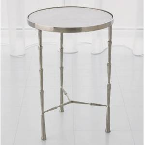 Global Views Julep Nickel Accent Table