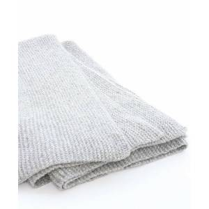 Sefte Living Abrazo Hand Knit Blanket Throw-Silver