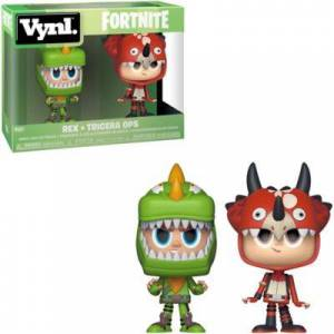 Funko Vynl. Rex & Tricera Ops Figures - Fortnite Birthday Party Supplies