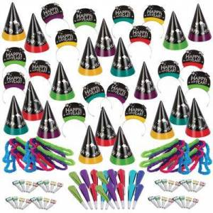 PARTY CITY Kit For 200 - Simply Stated New Year's Party