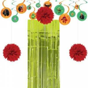 PARTY CITY Angry Birds Decorating Kit Birthday Party Supplies