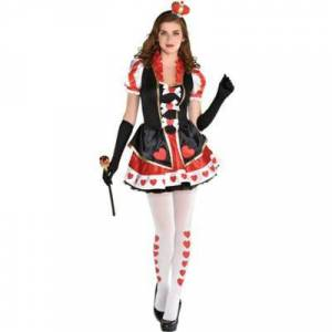 AMSCAN Adult Women's Charmed Queen Costume Size S Halloween Multi-Colored