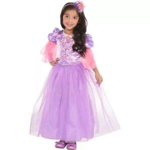 AMSCAN Kids Girls Rapunzel Costume - Tangled Size M Halloween Multi-Colored