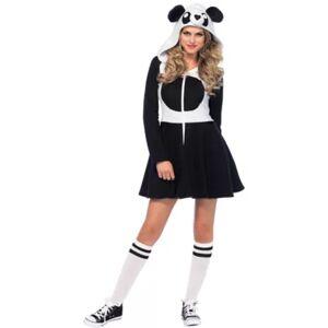 LEG AVENUE Adult Women's Cozy Panda Costume Size L Halloween Multi-Colored