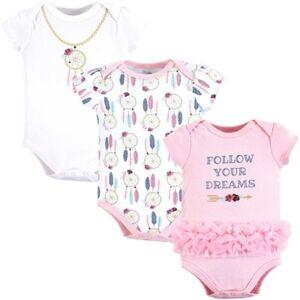 BABYVISION INC Dream Catcher Little Treasure Bodysuits, 3-Pack Size 3-6M Birthday Party Supplies