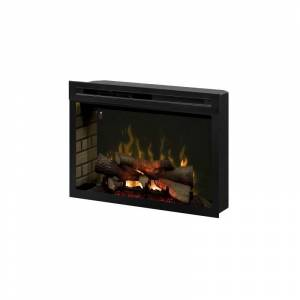 Dimplex PF3033HL 1500 Watt (120 Volt) 33 Inch Built-In Electric Heater with Multi-Fire XD and ComfortSaver Technology Black Fireplace Insert Electric