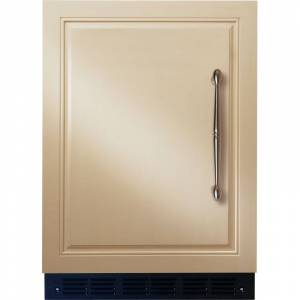 Monogram ZIFI240H 24 Inch Wide 5.4 Cu. Ft. Compact Refrigerator with Full Extension Crisper Drawer Panel Ready Refrigeration Appliances Compact  - Panel Ready