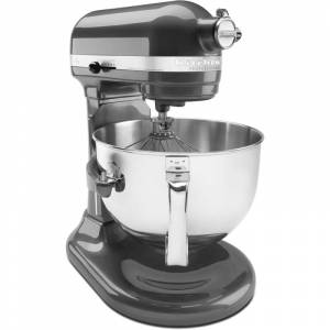 KitchenAid KP26M1X 10 Speed 6 Qt. Stand Mixer with Bowl Lift Pearl Metallic Small Appliances Mixers Stand Mixers