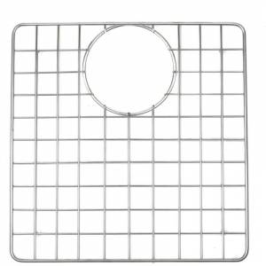 """ALFI brand ABGR340 12-3/16"""" L x 12-3/8"""" W Basin Rack Brushed Stainless Steel Sink Accessories and Parts Kitchen Sink Accessories Basin Racks  - Brushed Stainless Steel"""