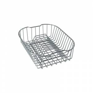 Franke CP-50 Compact Rectangular Wire Rinse Basket Polished Chrome Accessory Rinse Basket  - Polished Chrome