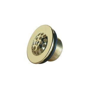 "Kingston Brass DTL20 2-7/8"" Diameter Bathtub Strainer Polished Brass Accessory Tub Waste Part  - Polished Brass"