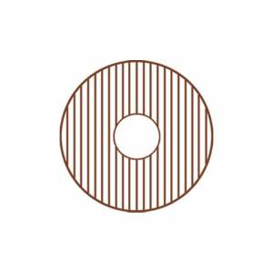 Whitehaus GRC1818 Matching Grid for Model WH1818COPR Copper Sink Accessories and Parts Kitchen Sink Accessories Basin Racks  - Copper