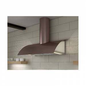 "Zephyr 36"" Wide Cheng Wall Mount Range Hood w/ LED Lighting & Blower Options up to 1000 CFM  - COK-E36BRGX  - Rose Gold"