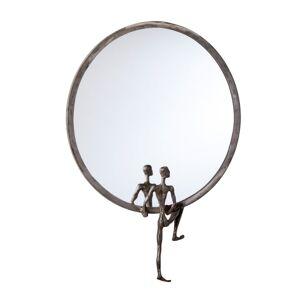 Cyan Design 04446 Kobe Rounded Mirror Raw Steel Home Decor Mirrors Accent Mirror  - Raw Steel