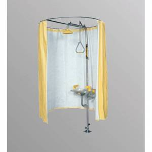 Speakman SE-CURTAIN Privacy Curtain for Safety Shower Yellow Emergency Equipment Shower Shower  - Yellow