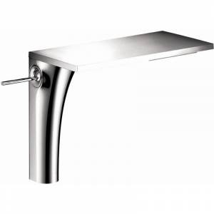 Axor 18020 Massaud 1.2 GPM Single Hole Joystick Tall Vessel Bathroom Faucet Less Drain Assembly - Engineered in Germany Limited Lifetime Warranty