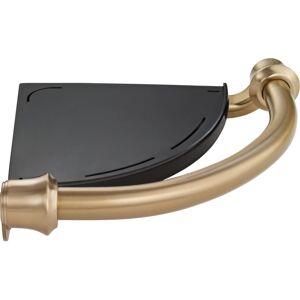 """Delta 41316 Decor Assist 8-3/4"""" Metal Bathroom Shelf Champagne Bronze Bathroom Storage Bathroom Shelf  - Champagne Bronze"""