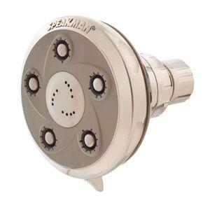 Speakman S-2007 Napa Massage 50 Spray 2.5 GPM Shower Head Brushed Nickel Showers Shower Heads Multi Function