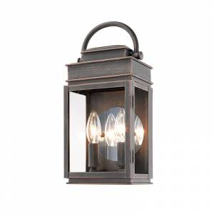 """Artcraft Lighting AC8221 Fulton 2 Light 13"""" Tall Outdoor Wall Sconce Oil Rubbed Bronze Outdoor Lighting Wall Sconces"""