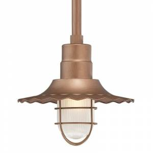 "Millennium Lighting RRWS12 R Series 1 Light 12"" Wide Outdoor Shade Copper Accessory Shades Shades  - Copper"
