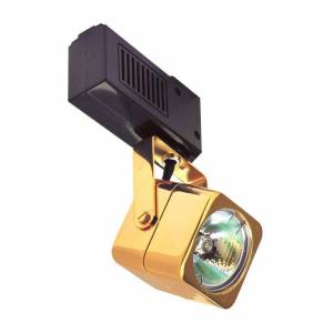 Elco ET532 50W Low-Voltage Soft Square Fixture Black Track Lighting Heads Heads