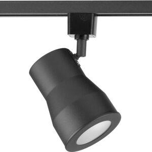"Progress Lighting P900001-27 AC LED Track LED Track 8"" Tall 2700K LED Track Head Black Track Lighting Heads"
