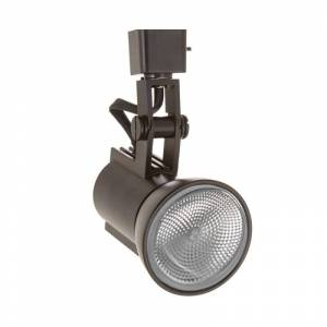 "WAC Lighting JTK-773 Radiant J-Track 6"" Tall Track Head Black Track Lighting Heads Heads"