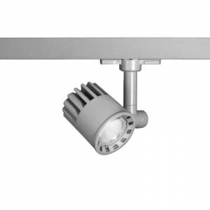 """WAC Lighting WTK-LED20F-930 LEDme Exterminator Low Voltage 3.625"""" Wide Energy Star 3000K 90 CRI High Output LED Track Head for W-Track System with 40"""