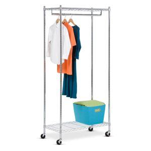 Honey-Can-Do GAR-01120 Urban Garment Rack Chrome Storage and Organization Closet Organizers Clothes Racks  - Chrome