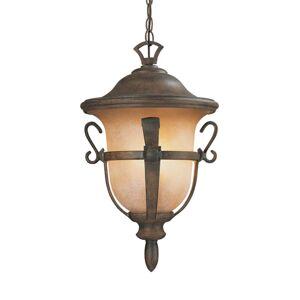"""Kalco 9396 Tudor Outdoor 12"""" Wide Outdoor Pendant Walnut Outdoor Lighting Pendants  - Walnut"""
