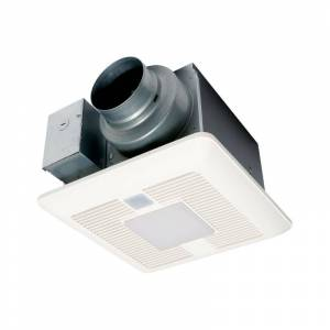 Panasonic 110 CFM  Ceiling Mounted LED Exhaust Fan with Motion and Humidity Sensor - FV-0511VQCL1  - N,A
