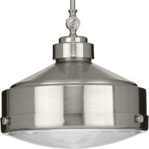 "Progress Lighting P500170 Loftin 15"" Wide Pendant Brushed Nickel Indoor Lighting Pendants  - Brushed Nickel"