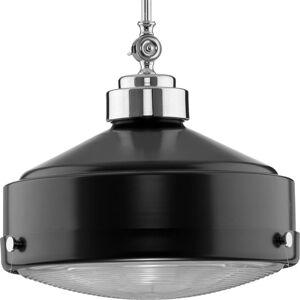 "Progress Lighting P500170 Loftin 15"" Wide Pendant Matte Black Indoor Lighting Pendants  - Matte Black"