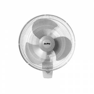 """Air King 9012 12"""" 930 CFM 3-Speed Commercial Grade Oscillating Wall Mount Fan Fans Air Circulator Wall Mounted  - na"""