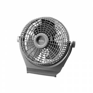 "Air King 9525 9"" Blade 2390 CFM 2-Speed Commercial Grade Pivoting Fan Fans Air Circulator Table Fan  - na"
