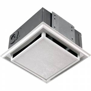 Broan Non-Ducted Ceiling or Wall Mounted Bath Fan - 682  - White