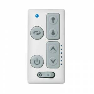 Emerson SW605 Switch for Ceiling Fan Control White Ceiling Fan Accessories Controls Wall Controls  - White