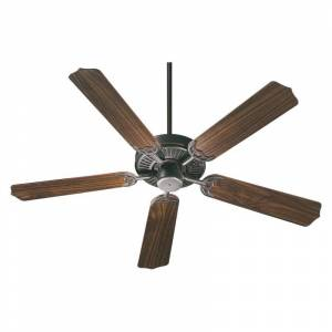 """Quorum International Q77525 Capri I 52"""" 5 Blade Hanging Indoor Ceiling Fan with Reversible Motor and Blades Old World Fans Ceiling Fans Indoor"""