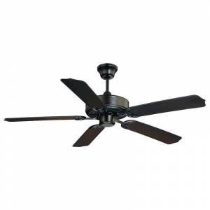 """Savoy House 52-EOF-5 Nomad 52"""" Span 5 Blade Indoor / Outdoor Ceiling Fan Blades Included Flat Black Fans Ceiling Fans Indoor Ceiling Fans"""