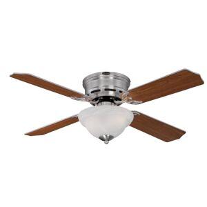 "Westinghouse 7230400 Hadley 42"" 4 Blade Indoor LED Ceiling Fan Brushed Nickel Fans Ceiling Fans Indoor Ceiling Fans  - Brushed Nickel"