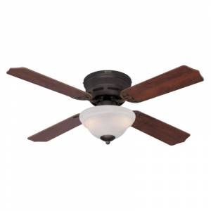 """Westinghouse 7230400 Hadley 42"""" 4 Blade Indoor LED Ceiling Fan Oil Rubbed Bronze Fans Ceiling Fans Indoor Ceiling Fans  - Oil Rubbed Bronze"""