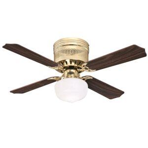 """Westinghouse 7230900 Casanova Supreme 42"""" 4 Blade LED Ceiling Fan Polished Brass Fans Ceiling Fans Indoor Ceiling Fans  - Polished Brass"""