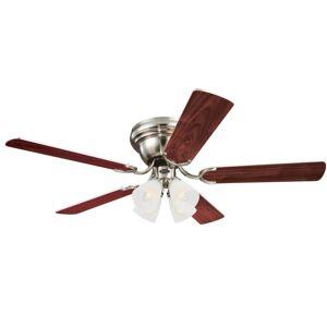 """Westinghouse 7232000 Contempra IV 52"""" 5 Blade Indoor LED Ceiling Fan Brushed Nickel Fans Ceiling Fans Indoor Ceiling Fans  - Brushed Nickel"""