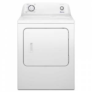 Amana NGD4655E 29 Inch Wide 6.5 Cu. Ft. Gas Dryer with Automatic Dryness Control White Laundry Appliances Dryers Gas Dryers