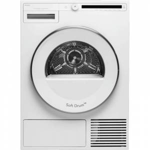 Asko T208H Classic Series 24 Inch Wide 4.1 Cu Ft. Energy Star Rated Electric Classic Heat Pump Dryer White Laundry Appliances Dryers Electric Dryers