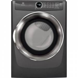 Electrolux EFME527U 27 Inch Wide 8.0 Cu. Ft. Energy Star Rated Electric Dryer with Perfect Steam™ Wrinkle Release Titanium Laundry Appliances Dryers  - Titanium