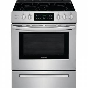 Frigidaire FFEH3054U 30 Inch Wide 5 Cu. Ft. Free Standing Electric Range Stainless Steel Ranges Free Standing Electric