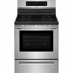 Frigidaire FFIF3054T 30 Inch Wide 5.3 Cu. Ft. Free Standing Electric Induction Range with Auto Sizing Pan Detection and True Temp Melt & Hold  - Stainless Steel