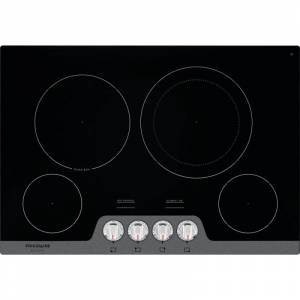 Frigidaire FGEC3048U Gallery 30 Inch Wide 4 Burner Electric Cooktop Stainless Steel Cooktops Cooktop Electric